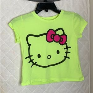 Girls Lime Green Tank